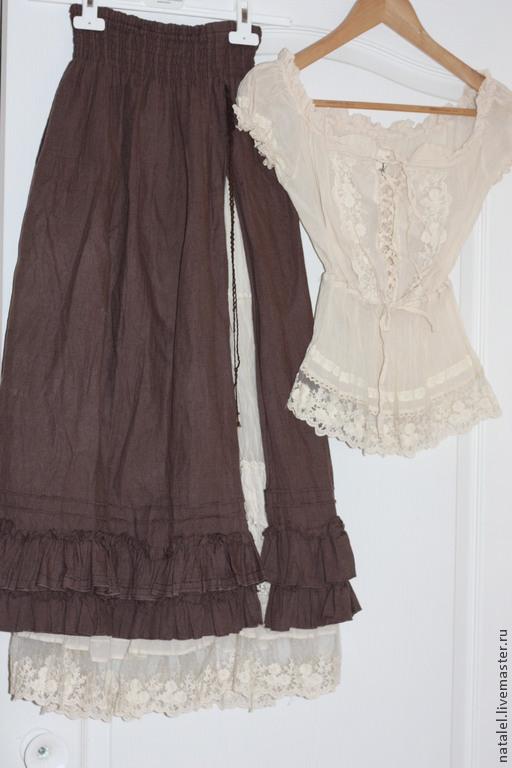Купить юбки и блузки
