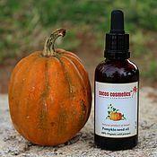 Косметика ручной работы handmade. Livemaster - original item Pumpkin Seed Oil - Pure 100 % organic, undiluted, cold pressed. Handmade.
