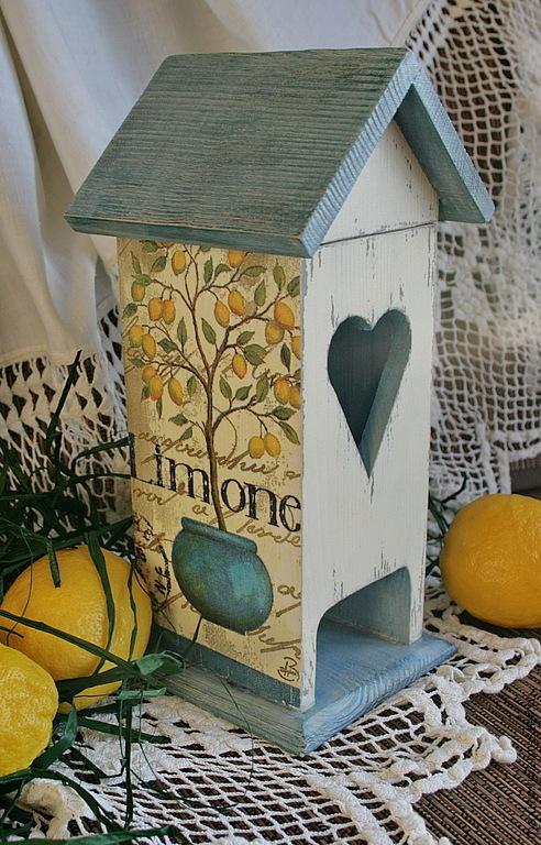"""Кухня ручной работы. Ярмарка Мастеров - ручная работа. Купить чайный домик """"Чай с лимоном"""". Handmade. Чайный домик"""