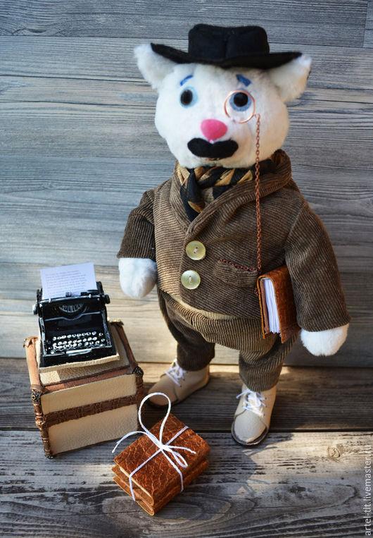 """Коллекционные куклы ручной работы. Ярмарка Мастеров - ручная работа. Купить """"Евклид"""". Handmade. Писатель, образ, интерьерная игрушка, трикотаж"""