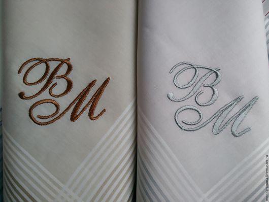 Носовые платочки ручной работы. Ярмарка Мастеров - ручная работа. Купить вышивка носового платка. Handmade. Носовой, вышивка, на заказ