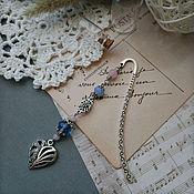 Канцелярские товары handmade. Livemaster - original item Bookmark for a book, notebook, diary Heart, inexpensive souvenir. Handmade.
