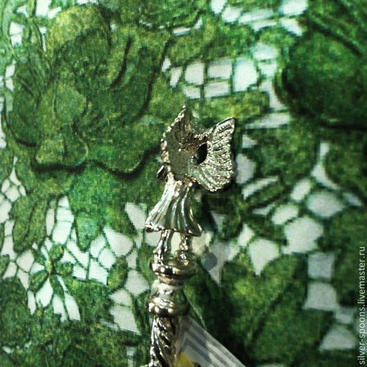 Серебряные ложки Скоблинского. Столовое серебро всегда считалось хорошим подарком на свадьбу или её годовщины, юбилей и др. торжества. Ложку можно украсить гравировкой инициалов.