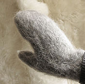 Аксессуары handmade. Livemaster - original item Varezhki from goat hair. Handmade.