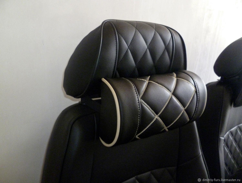 Автомобильная подушка на подголовник, Автомобильные сувениры, Ярославль,  Фото №1