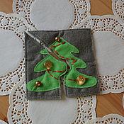 """Куклы и игрушки ручной работы. Ярмарка Мастеров - ручная работа Паззлы """"Новогодние"""". Handmade."""