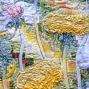 """Картины и панно ручной работы. Ярмарка Мастеров - ручная работа Панно """"Одуванчики"""". Handmade."""