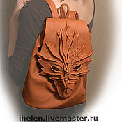 Сумки и аксессуары handmade. Livemaster - original item Colorful Backpack-Dragons. Handmade.