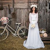 Свадебный салон ручной работы. Ярмарка Мастеров - ручная работа Свадебное платье Джульетта. Handmade.