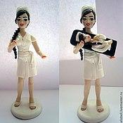 Куклы и игрушки ручной работы. Ярмарка Мастеров - ручная работа держатель флэшки, мед. сестра. Handmade.