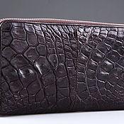Сумки и аксессуары handmade. Livemaster - original item Wallet crocodile leather IMA0206VK5. Handmade.