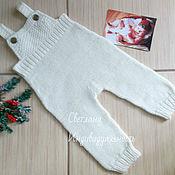 Работы для детей, handmade. Livemaster - original item pants with straps. Handmade.