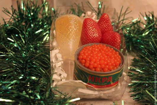 """Мыло ручной работы. Ярмарка Мастеров - ручная работа. Купить Набор мыла """" С Новым годом - 2"""". Handmade."""