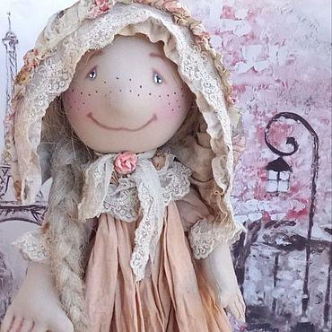 Dolls & toys handmade. Livemaster - original item Little Greta. Handmade.