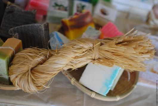 Мыло-мочалка ручной работы. Ярмарка Мастеров - ручная работа. Купить Мочалка из лыка. Handmade. Мочалка, сауна, купить мочалку