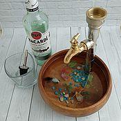 Сувениры и подарки handmade. Livemaster - original item Gift to a man fisherman Dispenser. Handmade.