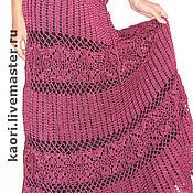 Одежда ручной работы. Ярмарка Мастеров - ручная работа юбка КРУЖЕВА Готовая работа размер 52-54. Handmade.