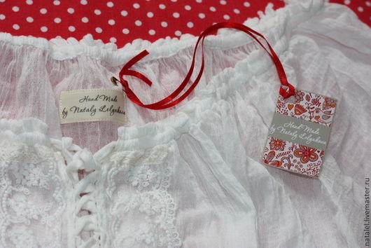 """Блузки ручной работы. Ярмарка Мастеров - ручная работа. Купить Блузка белая """"Provence-6"""" кружево бохо стиль кантри. Handmade."""