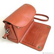 Сумки и аксессуары handmade. Livemaster - original item Handbag leather