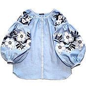 Одежда ручной работы. Ярмарка Мастеров - ручная работа Вышитая блуза женская  бохо, этно стиль  Vita Kin,Bohemia. Handmade.