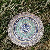 Картины и панно handmade. Livemaster - original item Panels: Live Mandala Gayatri Mantra. Handmade.