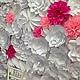 Свадебные цветы ручной работы. Заказать Цветочный задник молодоженов 3х2 метра. Семенова Татьяна. Ярмарка Мастеров. Цветочный задник