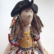 Куклы Тильда ручной работы. Ярмарка Мастеров - ручная работа Кукла Пиратка Юнона. Handmade.