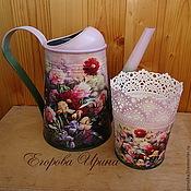 Цветы и флористика handmade. Livemaster - original item Watering The Peonies. Handmade.