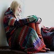 """Одежда ручной работы. Ярмарка Мастеров - ручная работа Пальто """"Жизнерадостное"""". Handmade."""