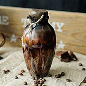 Посуда ручной работы. Ярмарка Мастеров - ручная работа Бутылка для масла. Handmade.