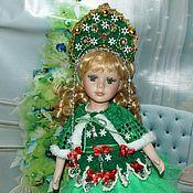 Куклы и игрушки handmade. Livemaster - original item Christmas tree - new year`s porcelain doll. Handmade.