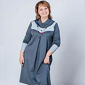 "Одежда handmade. Livemaster - original item Платье-бохо из джерси двухцветное 2 ""Сашенька"". Handmade."