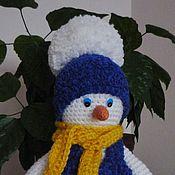 Подарки к праздникам ручной работы. Ярмарка Мастеров - ручная работа Снеговик большой. Handmade.