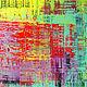 Абстракция ручной работы. Ярмарка Мастеров - ручная работа. Купить Абстрактная живопись. Glow.. Handmade. Желтый, абстракция, абстрактный
