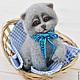 Игрушки животные, ручной работы. Заказать Котенок  британец - валяный кот из шерсти (войлочная игрушка). Кристина Дрозд  KnicKnack. Ярмарка Мастеров.
