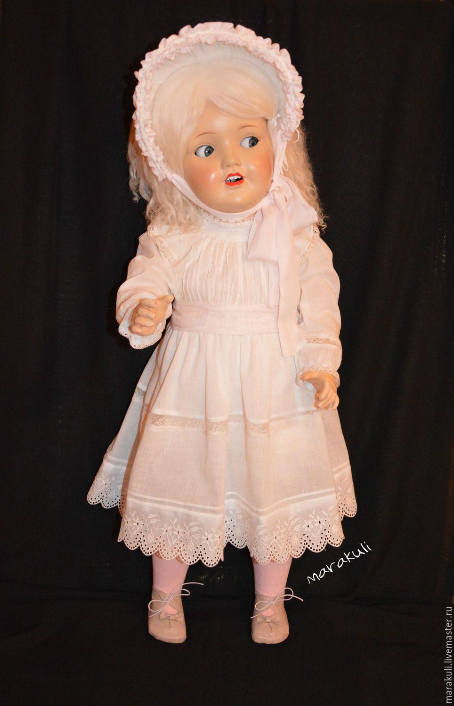 Реставрация антикварной немецкой куклы середины 50-60-х годов.