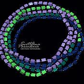 Работы для детей, handmade. Livemaster - original item Beads made of polymer clay of different colors (565). Handmade.