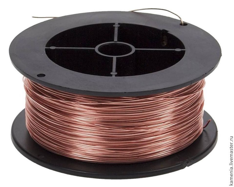 Copper wire. 0.6 mm, Wire, Novosibirsk,  Фото №1