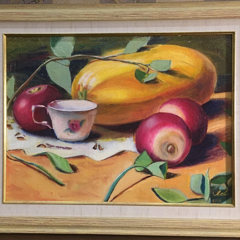 Painting 'still Life', 30h40, Pictures, Mytishchi,  Фото №1