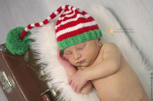 Шапочка `Рождественская`
