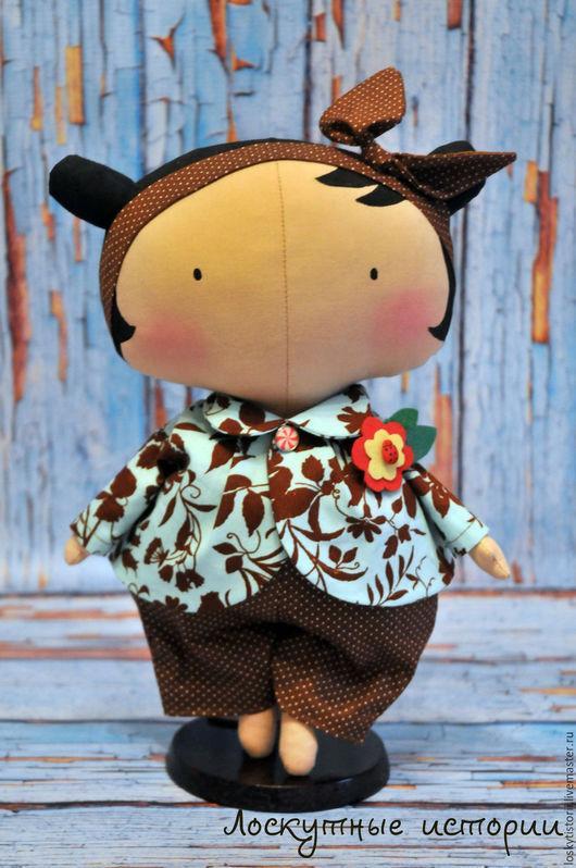 Куклы Тильды ручной работы. Ярмарка Мастеров - ручная работа. Купить Кукла Шоколадка. Handmade. Комбинированный, кукла Тильда