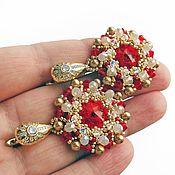 handmade. Livemaster - original item Earrings For the Queen of the Evening earrings. Handmade.