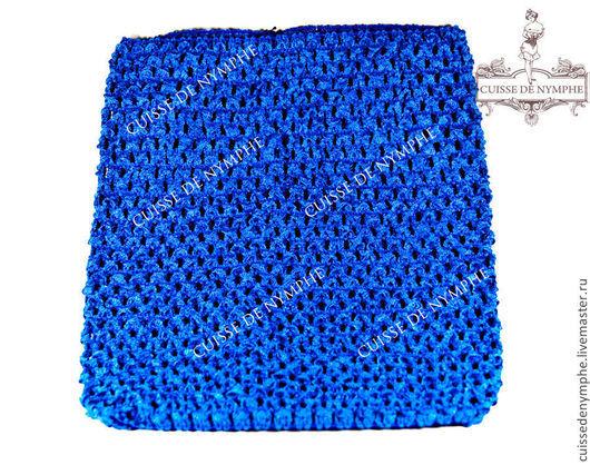 Шитье ручной работы. Ярмарка Мастеров - ручная работа. Купить Топ большой, синий, 2017. Handmade. Топ, топ акриловый