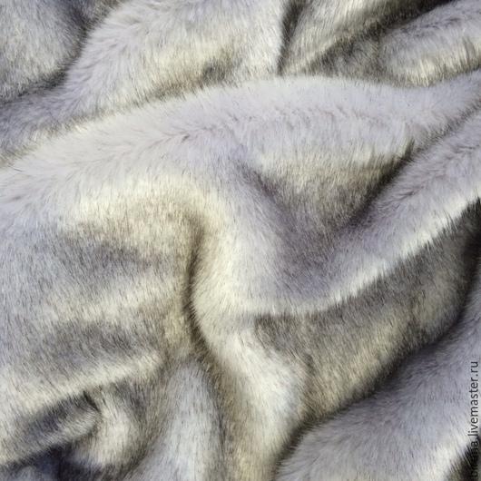 `Песец светло-серый`, мягкий и пушистый.