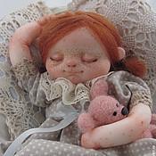 """Куклы и игрушки ручной работы. Ярмарка Мастеров - ручная работа """"Сплюшечка Мими"""". Handmade."""