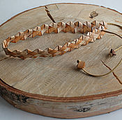 Русский стиль handmade. Livemaster - original item The hat is made of birch bark