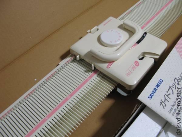 машинка для вязания бразер сильвер идей на тему вязание в