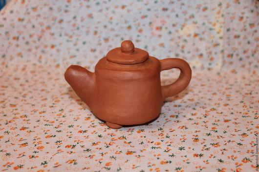 Чайники, кофейники ручной работы. Ярмарка Мастеров - ручная работа. Купить Чайник для китайского чая. Handmade. Терракотовый цвет