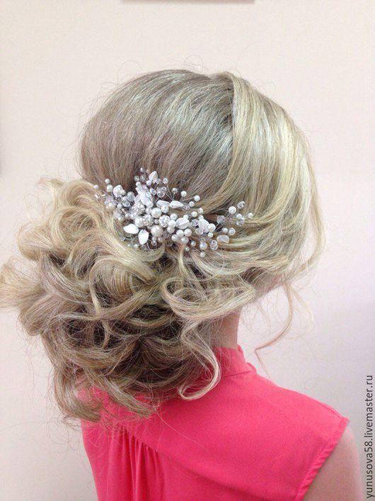Свадебные Украшения для волос. Свадебные Украшения для прически, свадебное украшение для волос, купить украшение для невесты, украшения в волосы,  украшения для прически невесты, свадебный гребень