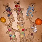 Куклы и игрушки ручной работы. Ярмарка Мастеров - ручная работа мишка тильда. Handmade.
